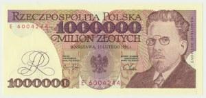 1 milion złotych 1991 - E -