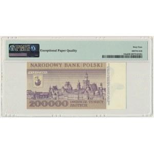 200.000 złotych 1989 - A - PMG 64 EPQ