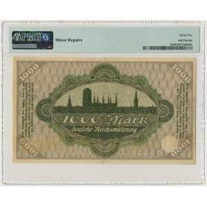 Gdańsk 1.000 marek 1923 - PMG 35