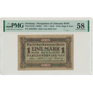 Kowno 1 marka 1918 - A - PMG 58