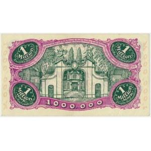 Gdańsk 1 milion marek 08 Sierpnia 1923 - num. 5 cyfrowa z ❊ nieobróconą