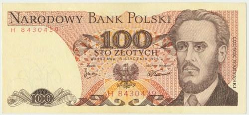 100 złotych 1975 - H -