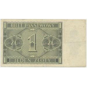 1 złoty 1938 - U -