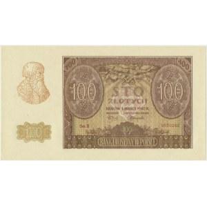 100 złotych 1940 ZWZ - B -
