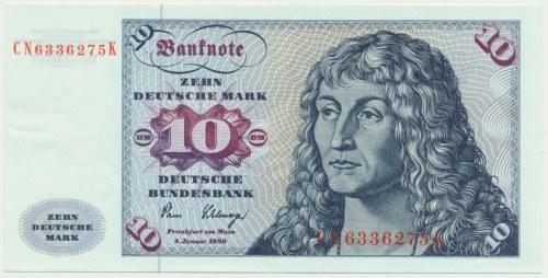 Niemcy, 10 marek 1980