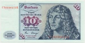 Germany, 10 mark 1980