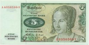 Germany 5 mark 1960