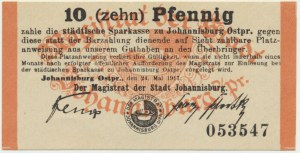 Johannisburg (Pisz), 10 Pfennig 1917
