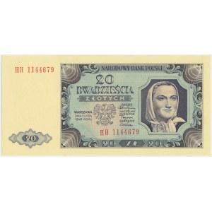 20 złotych 1948 - HH -