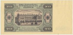 20 złotych 1948 - CR -