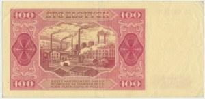 100 złotych 1948 - GS - BEZ RAMKI
