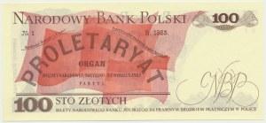 100 złotych 1976 - BA - rzadsza seria