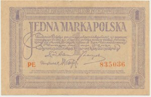 1 marka 1919 - PE -