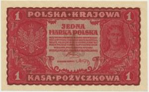 1 marka 1919 - I Serja BF -