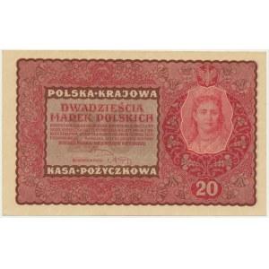 20 marek 1919 - II Serja BE -