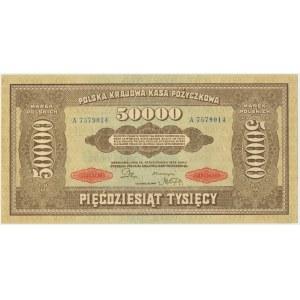 50.000 marek 1922 - A - bardzo ładny