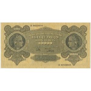 10.000 marek 1922 - H -