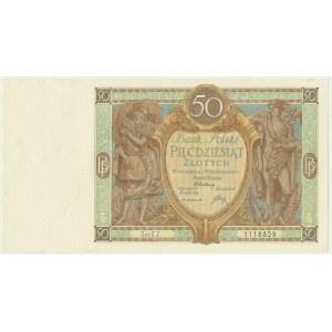 50 złotych 1929 - Ser.EZ. -