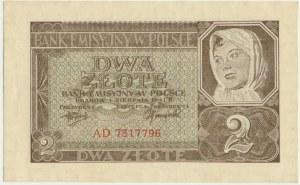 2 złote 1941 - AD -
