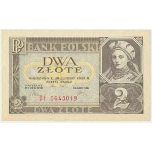 2 złote 1936 - DF -