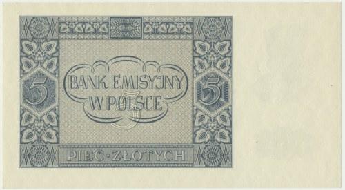 5 złotych 1941 - AC -