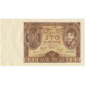 100 złotych 1934 - Ser.CP. -