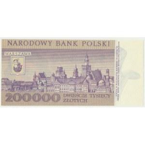 200.000 złotych 1989 - F -