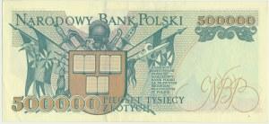 500.000 złotych 1993 - AA - bardzo rzadka