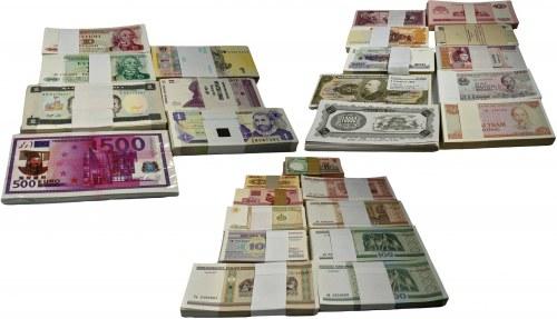 Zestaw handlowy, mix zagranicznych paczek bankowych (27 szt.)