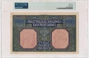 1.000 marek 1916 Generał - PMG 53 - rzadki i ładny