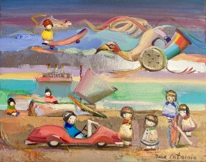 David Pataraia, Zadziwiająca plaża, 2020