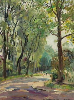 Włodzimierz Zakrzewski (1916-1992), Park Montsouris, 1957