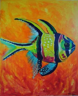 Diana Nowosad, Z cyklu Ryba jako pretekst kolorystyczny