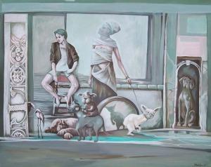 Magdalena Rytel-Skorek, Scena ze zwierzętami