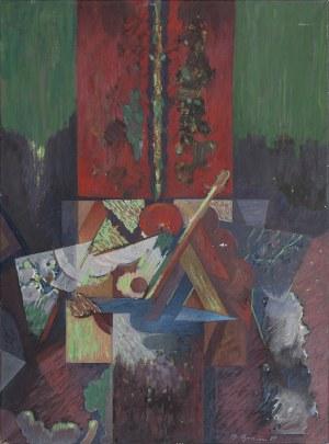 Bernard BRAUN (ur. 1935), Pejzaż, 1989