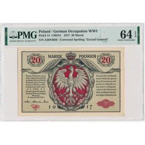 20 marek 1916 Generał - PMG 64 EPQ
