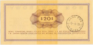Pewex, 20 dolarów 1969 - GH -