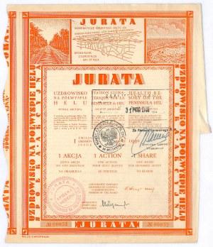 JURATA Uzdrowisko na Półwyspie Helskim S.A., Em.I, 100 złotych 1930