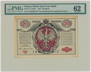 20 marek 1916 Jenerał - PMG 62 - RZADKOŚĆ
