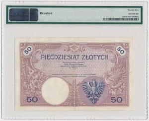 50 złotych 1919 - A.3 - PMG 25 - DUŻA RZADKOŚĆ