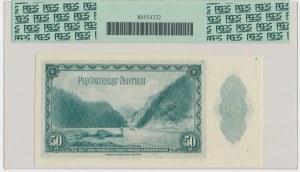 ABNCo, 50 złotych 1939 - H - PCGS 65 PPQ - RZADKI