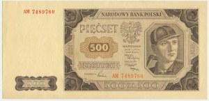 500 złotych 1948 - AM -