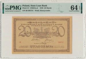 20 marek 1919 - IB - PMG 64 EPQ