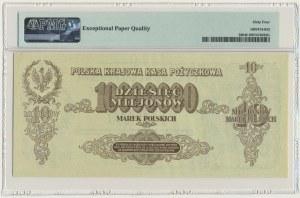 10 milionów marek 1923 - BL - PMG 64 EPQ - RZADKI I PIĘKNY