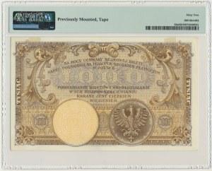 1.000 złotych 1919 - S.A - PMG 62