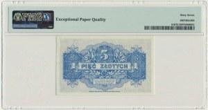 5 złotych 1939 - A - PMG 67 EPQ