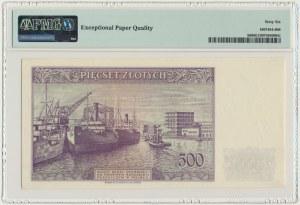 500 złotych 1939 - C - PMG 66 EPQ