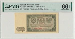 2 złote 1948 - F - PMG 66 EPQ