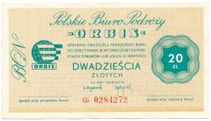 ORBIS, 20 złotych - CG - rzadsza seria