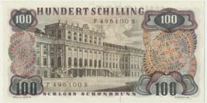 Austria, 100 schillings 1960